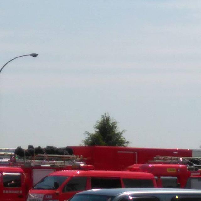 熊本へ応援隊沢山 #救急車もいっばい #隊員の皆様頼みます #福山神辺