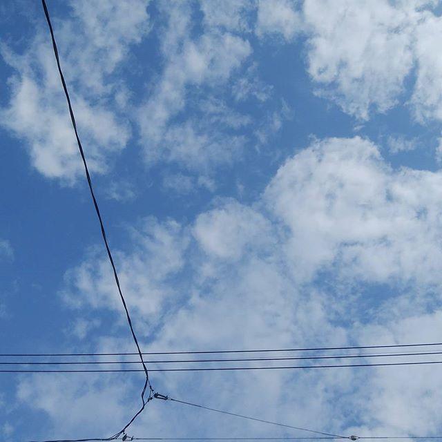 4/25 8:33 今朝の空 スッキリ~#福山神辺#福山神辺の空#めまい