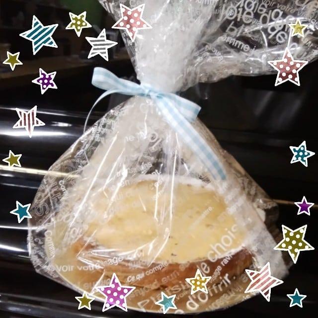 ホワイトデーに戴きました とっても濃密な味 最高!でした#福山神辺#チーズケーキ