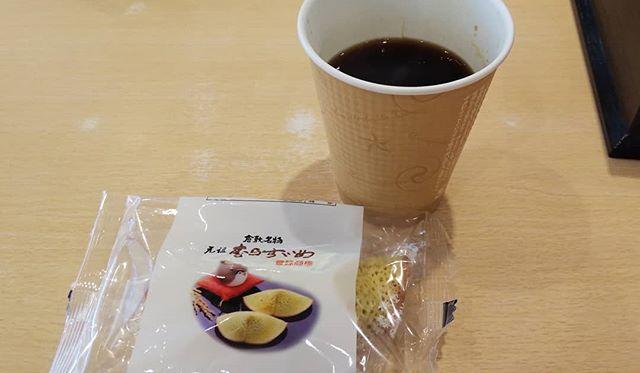 岡山銘菓むらすずめコーヒーとよく合う #福山神辺#むらすずめ
