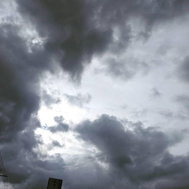 今朝のウォーキングやがて太陽がでも私には人の顔に見えて仕方ない#福山神辺 #ウォーキング#人の顔